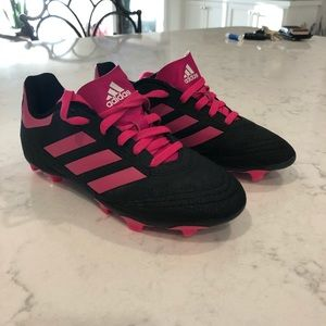 Adidas soccer cleats size 1.5